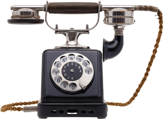 Old-timey phone